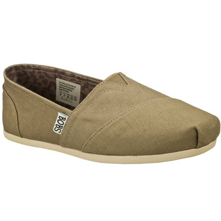 Skechers 33645TPE Women's BOBS PLUSH - PEACE AND LOVE Casual Shoes