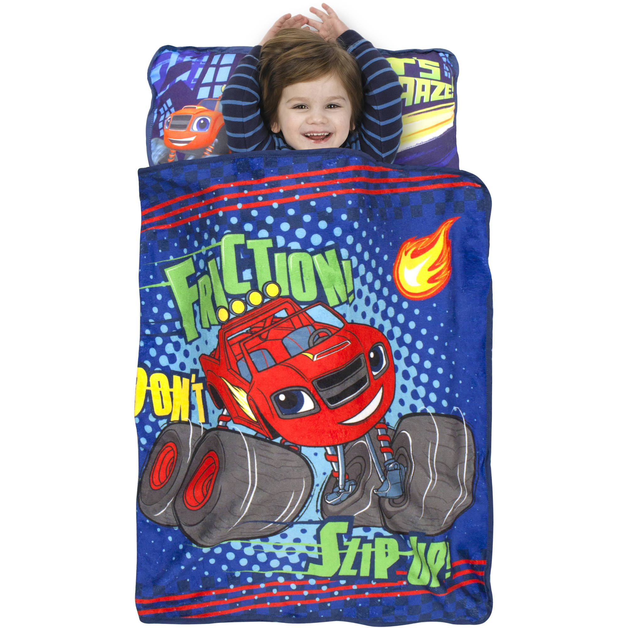 "Nickelodeon BLAZE the Monster Machine ""Don't Slip Up"" Toddler Nap Mat"