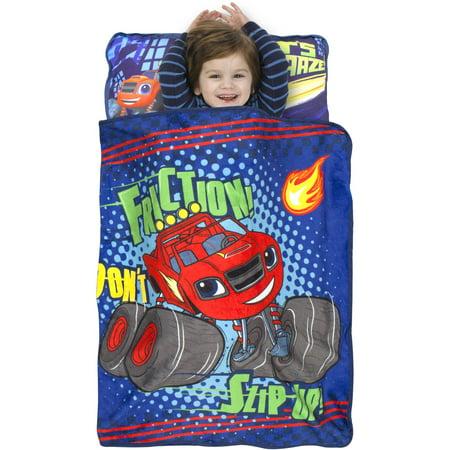 "Nickelodeon BLAZE the Monster Machine ""Dont Slip Up"" Toddler Nap Mat"