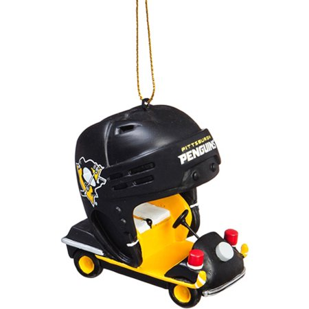 - Pittsburgh Penguins Field Car Ornament - No Size