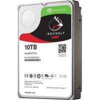 Seagate IronWolf Pro 10TB NAS Internal Hard Drive HDD  3.5 Inch SATA 6Gb/s 7200 RPM 256MB Cache for RAID Network Attached Storage, Data Recovery Rescue Service (ST10000NE0004)