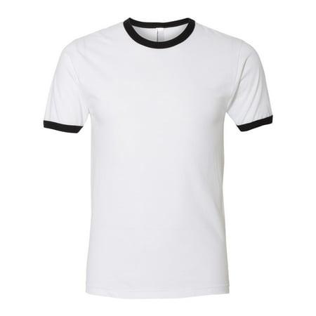 T-Shirts Fine Jersey Ringer T-Shirt Blue Kids Ringer T-shirt