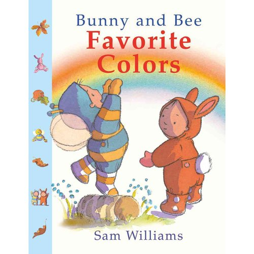 Bunny and Bee Favorite Colors
