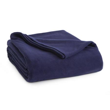 Vellux Fleece Blanket - Microfleece, Lightweight, Warm, Soft