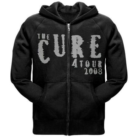 2008 Zip Hoodie - The Cure - Logo 2008 Tour Zip Hoodie