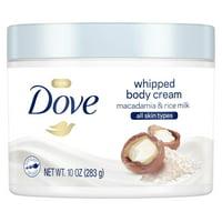 Dove Whipped Body Cream Macadamia and Rice Milk 10 oz