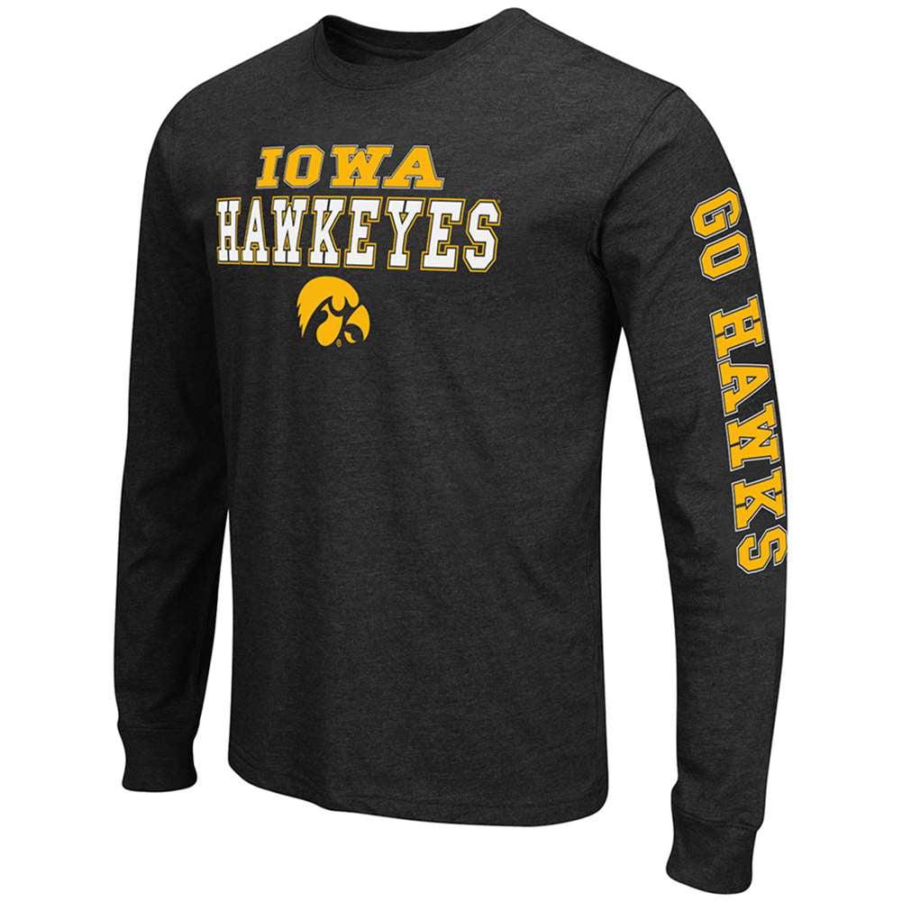 Iowa Hawkeyes Game Changer Long Sleeve T-Shirt