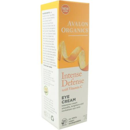 Avalon Organics La vitamine C Renouvellement Revitalisant Crème Contour des Yeux (1 oz Pack 2)