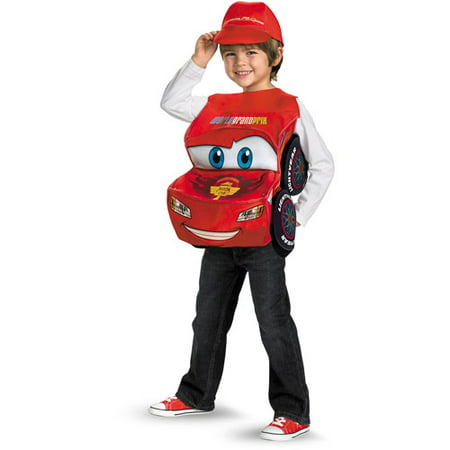 cars 2 lightning mcqueen with sound child halloween costume size s 6