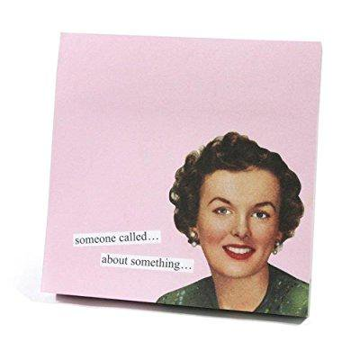 anne taintor sticky note booklet - someone called about something Anne Taintor Sticky Notes