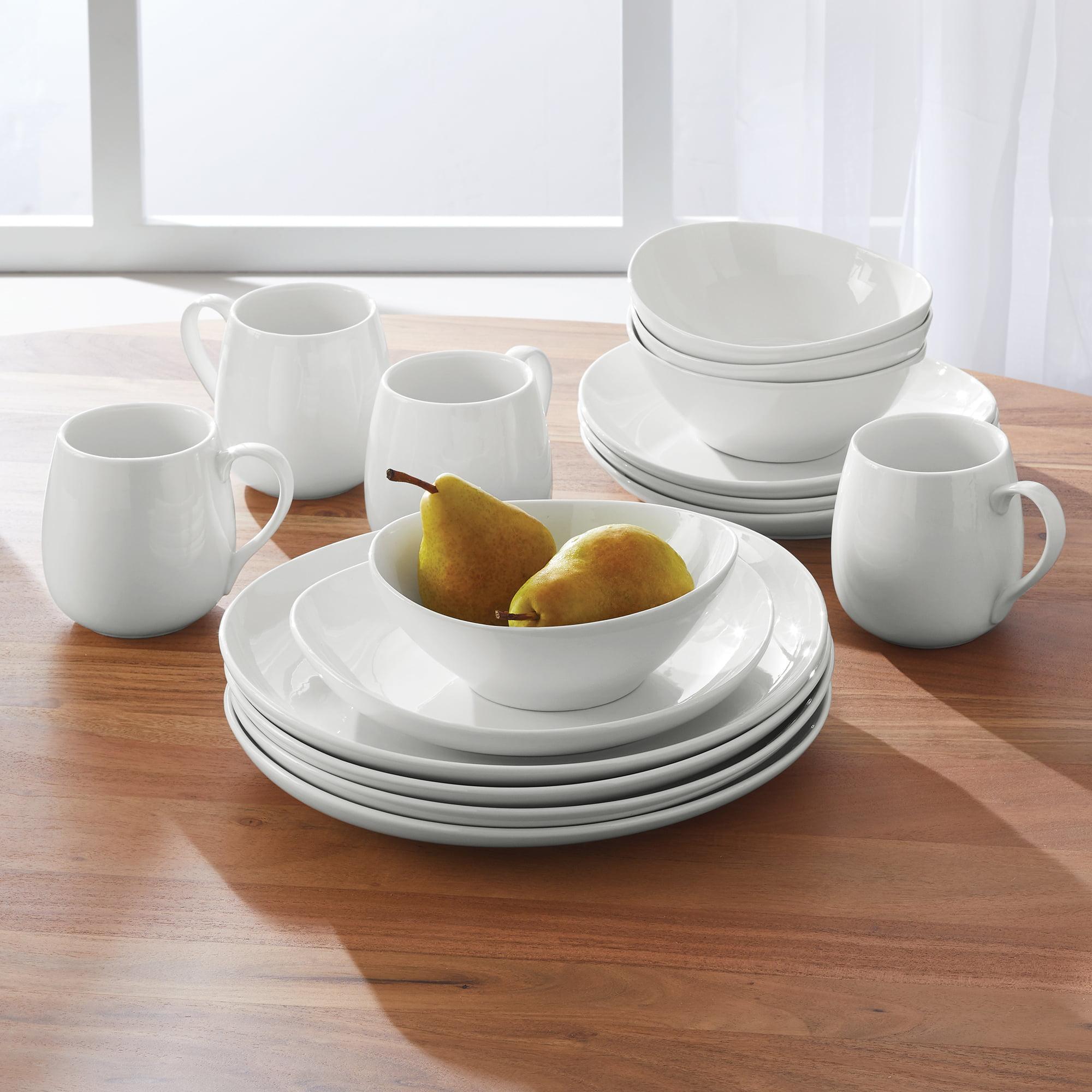 Walmart Housewares: Better Homes & Gardens 16 Piece Monroe Oval Dinnerware Set