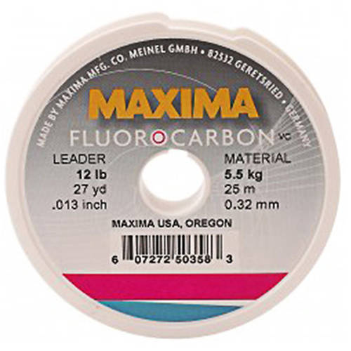 Maxima Fourocarbon Fishing Line Leader Wheel by Maxima