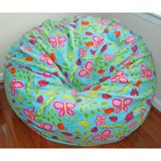 Ahh Products Earth Day Fleece Washable Bean Bag Chair