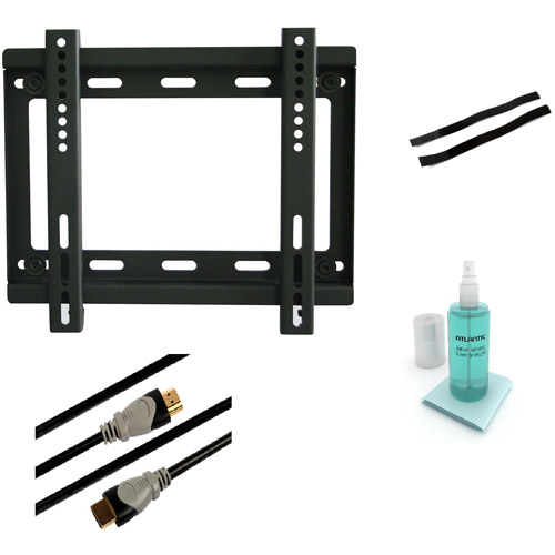 Low Profile Wall Mount Kit for 10'' to 37'' Flat Panel TVs