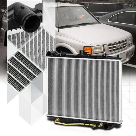 Aluminum Radiator OE Replacement for 98-04 Isuzu Rodeo/Passport 3.2/3.5 dpi-2195 99 00 01 02 03 1997 Isuzu Rodeo Radiator