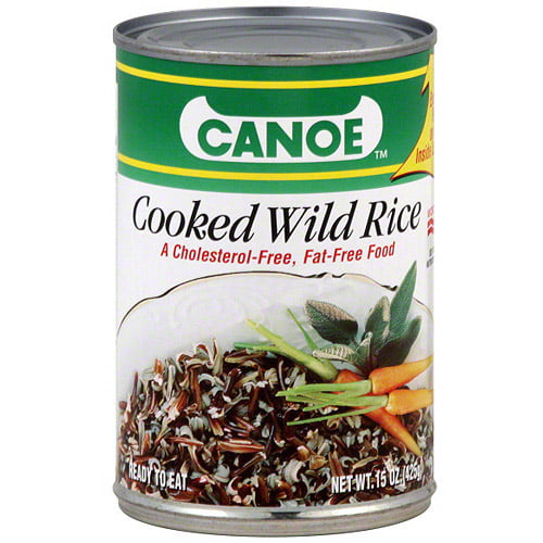 Canoe Cooked Wild Rice, 15 oz (Pack of 12) by Generic