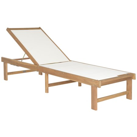 - Safavieh Manteca Outdoor Contemporary Lounge Chair