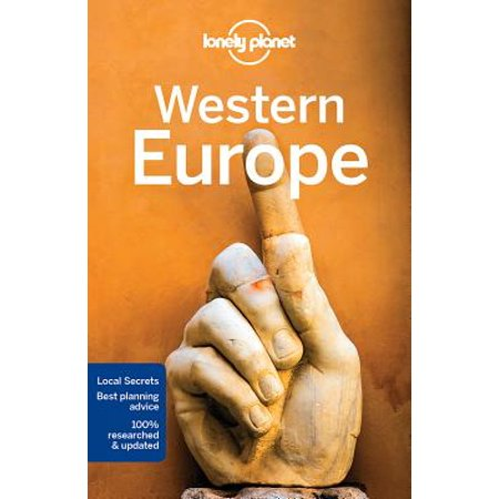 Travel guide: lonely planet western europe - paperback: