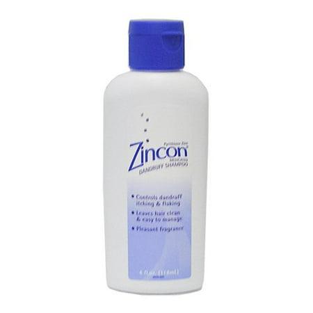 3 Pack - Zincon Medicated Dandruff Shampoo- 4oz - Zincon Dandruff Shampoo