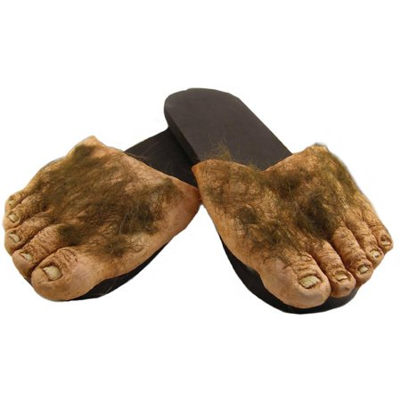Big Ol Hairy Feet Halloween Accessory, Adult Large (Halloween Games For 12-14 Year Olds)