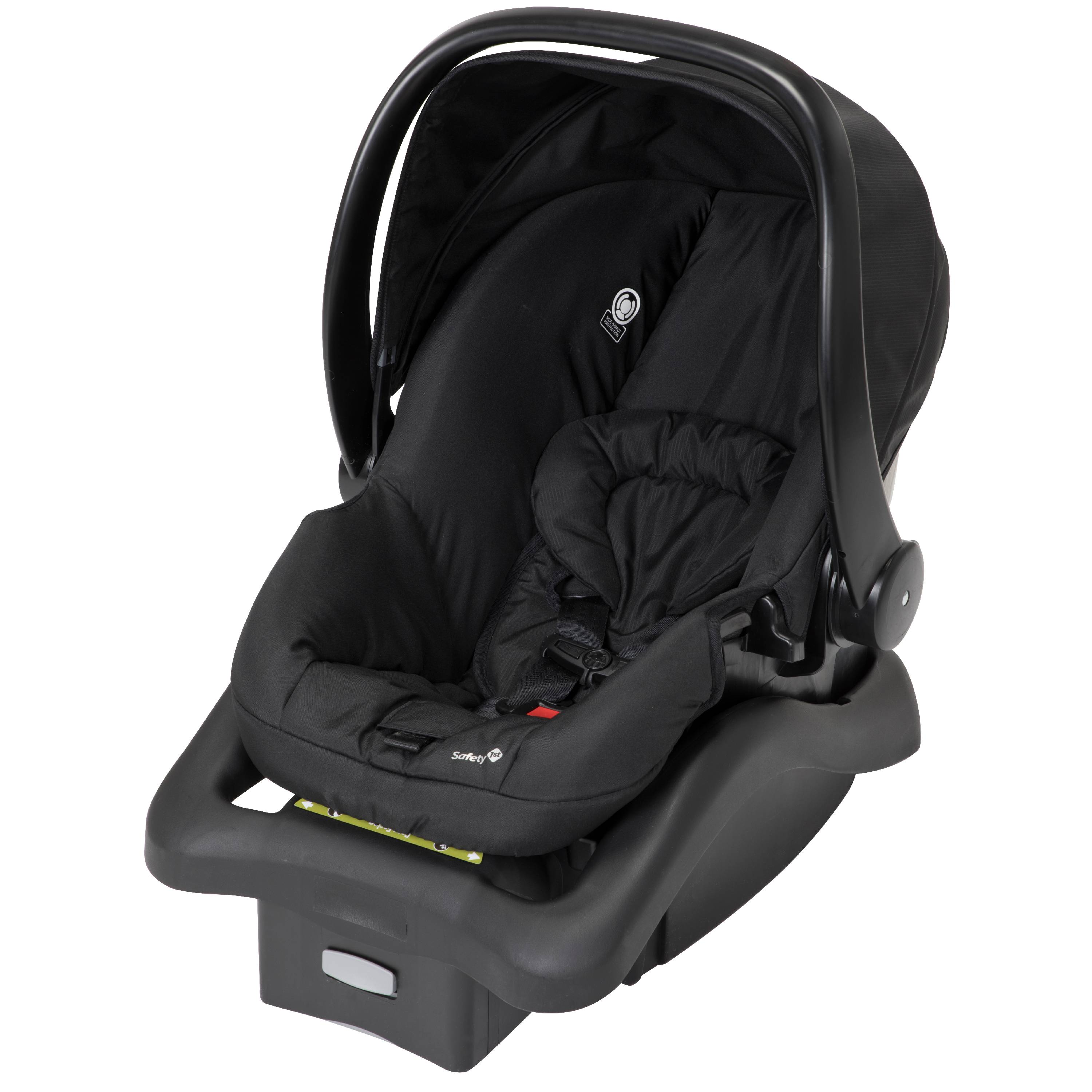 6b8568f74 Safety 1st RIVA Ultra Lightweight Travel System Stroller with onBoard35 FLX  infant Car Seat, Black Tie - Walmart.com