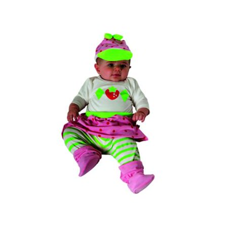 Strawberry Shortcake Onesie Newborn Infant Costume - Strawberry Shortcake Baby Costume