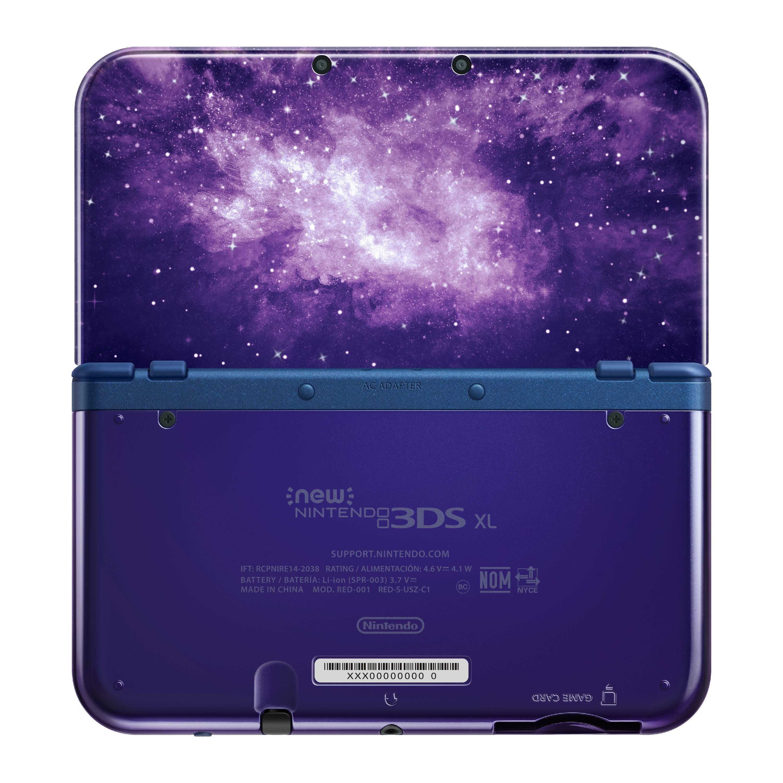 New Nintendo 3ds Xl Galaxy Style Walmart Com Walmart Com