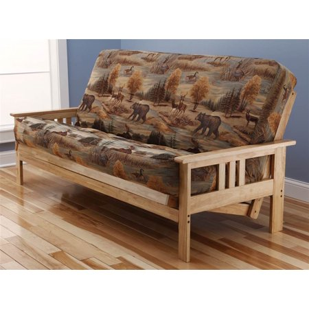 Monterey Futon Sofa In Natural Finish With Canadian