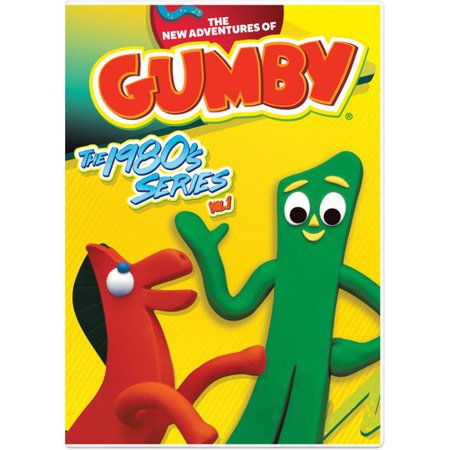 The New Adventures of Gumby: The 1980's Volume 1 (DVD) - Gumby Cartoon Character