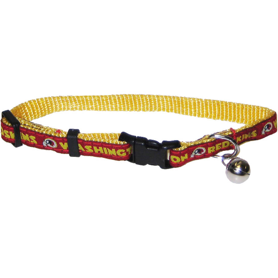 Pets First Nfl Washington Redskins Cat Collar
