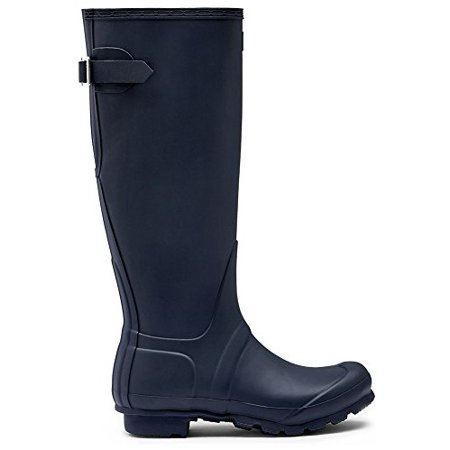 Hunter WFT1001RMA-NVY: Women's Original Back Adjustable Navy Rain Boot
