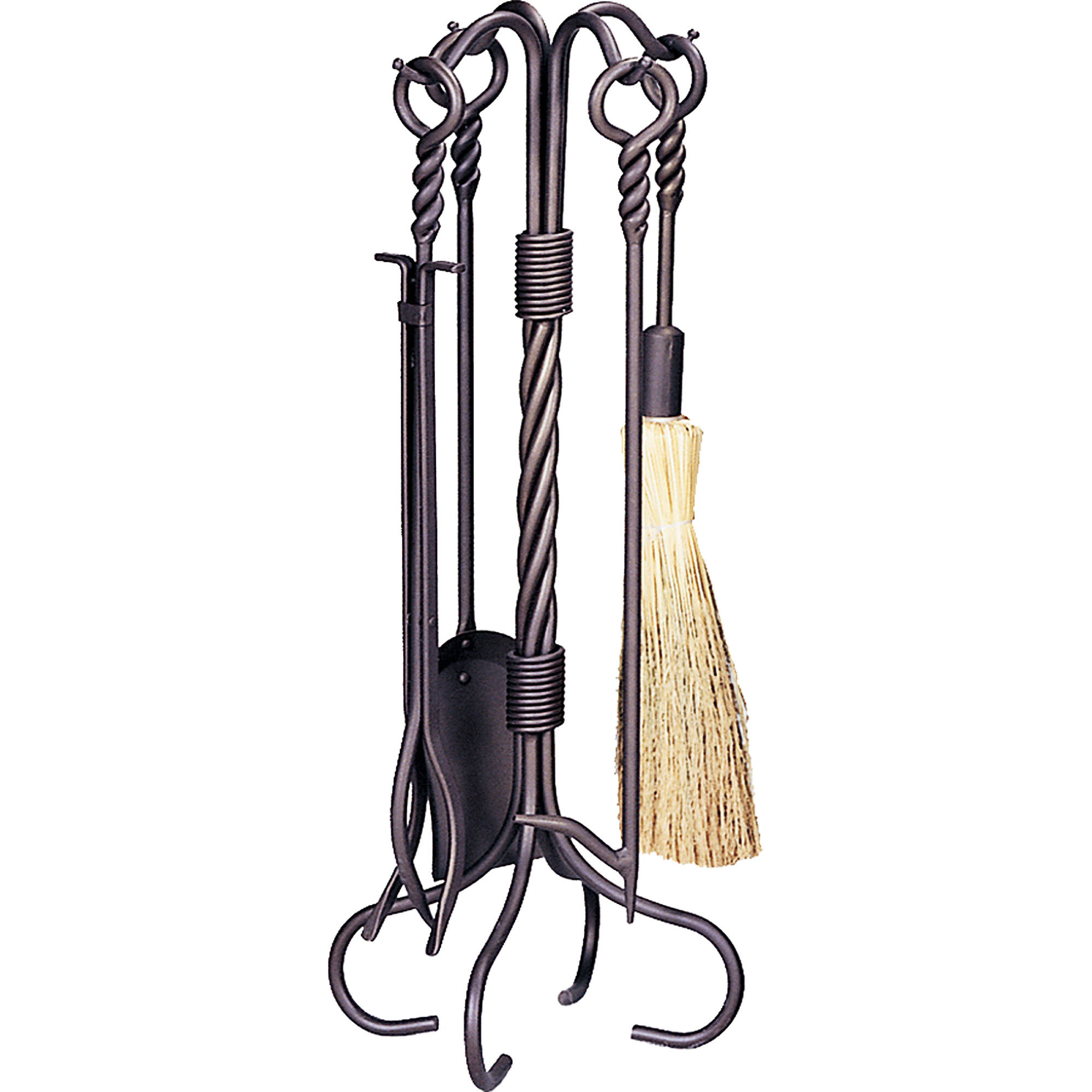 Uniflame Bronze Finish Fireplace Tool Set, 5-Piece by UniFlame