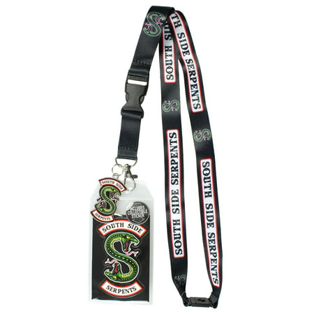 Riverdale Southside Serpents ID Lanyard Badge Holder With 2