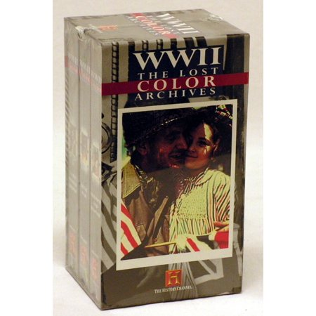 World War II - The Lost Color Archives 3 VHS Box Set Collection - Halloween Vhs Box Set