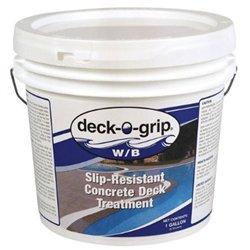 Deck-O-Grip Non-Yellowing Acrylic, Non-Slip, Water-Based Concrete Sealer 1
