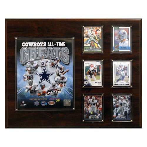 NFL 12 x 15 in. Dallas Cowboys 16 x 20 in. All-Time Greats Photo Plaque