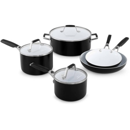 Select by Calphalon Ceramic Nonstick 8-piece Cookware Set W