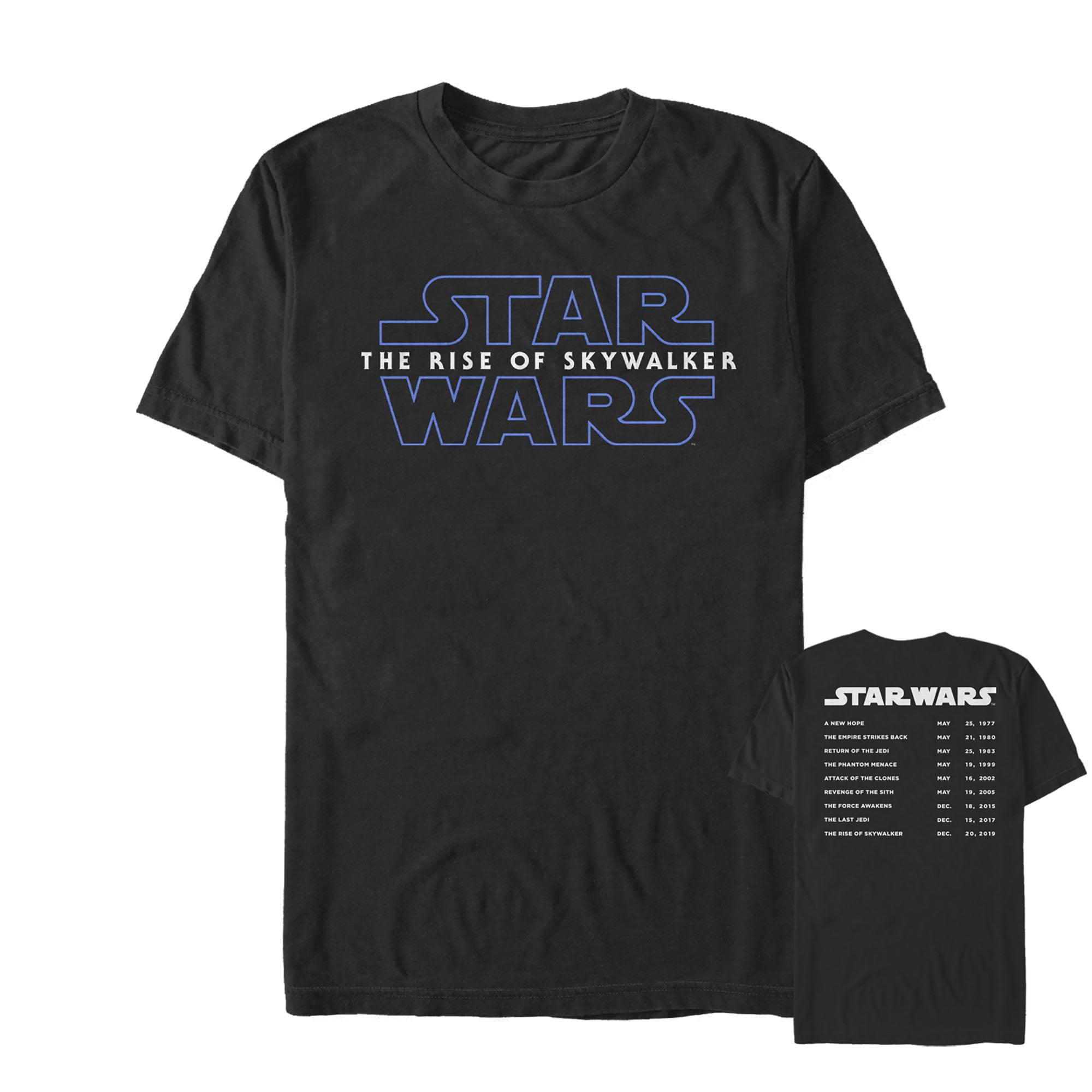 Star Wars Star Wars The Rise Of Skywalker Men S Movie Premieres T Shirt Walmart Com Walmart Com