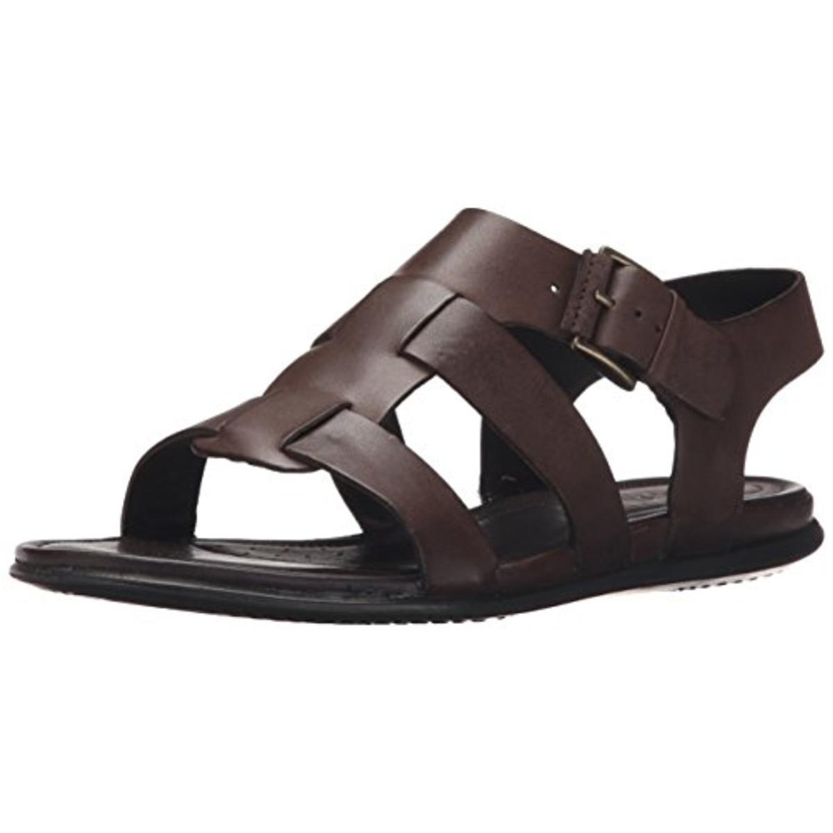 ECCO Womens Touch Leather Buckle Gladiator Sandals by Ecco