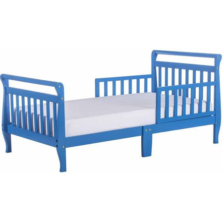 Dream On Me Sleigh Toddler Bed Multiple Finishes With Bed Rails