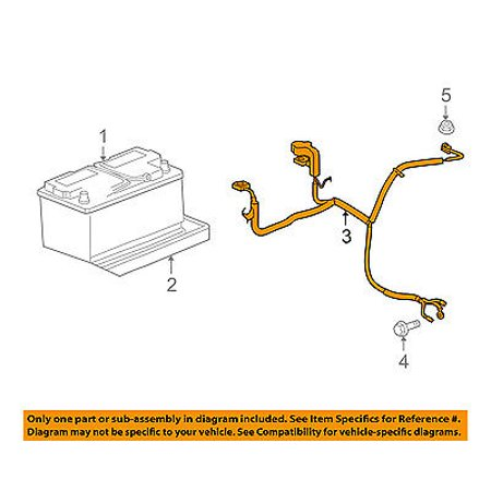Jeep Chrysler Oem 08 10 Grand Cherokee Battery Cable 56050959ad