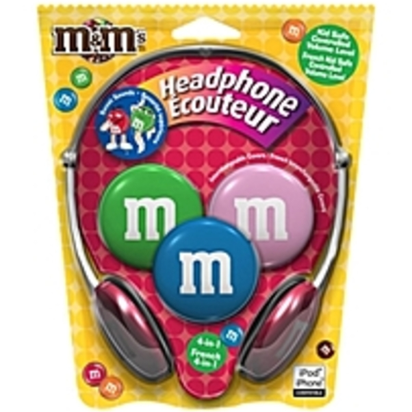 Maxell MMHP1 M&M's Kid Safe Headphones
