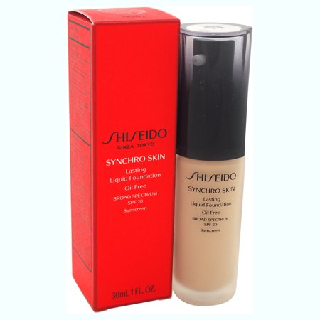 Synchro Skin Lasting Liquid Foundation SPF 20 - # 2 Neutral by Shiseido for Women - 1 oz Foundation