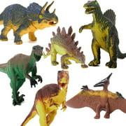 Multi-style Realistic Velociraptor Dinosaur Figure Animal Pig/Cow/Donkey/Horse/Dog/Sheep Model Kids Toy ,For Boys Girls Children Gifts