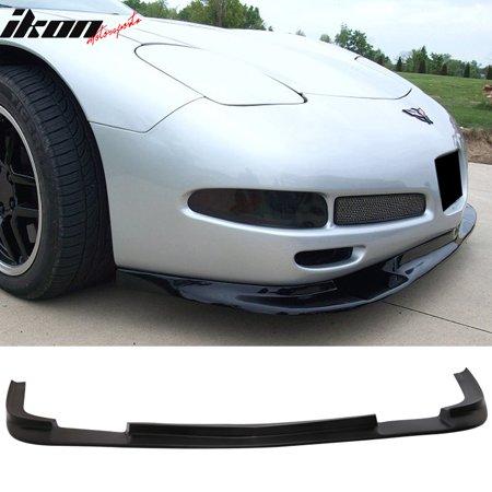 Fits 97-04 Corvette C5 ZR1 Style Front Bumper Lip Splitter - Polyurethane (PU)