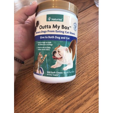 NaturVet Outta My Box Stool Deterrent for Dogs & Cats 500ct (EXP 11/2018)