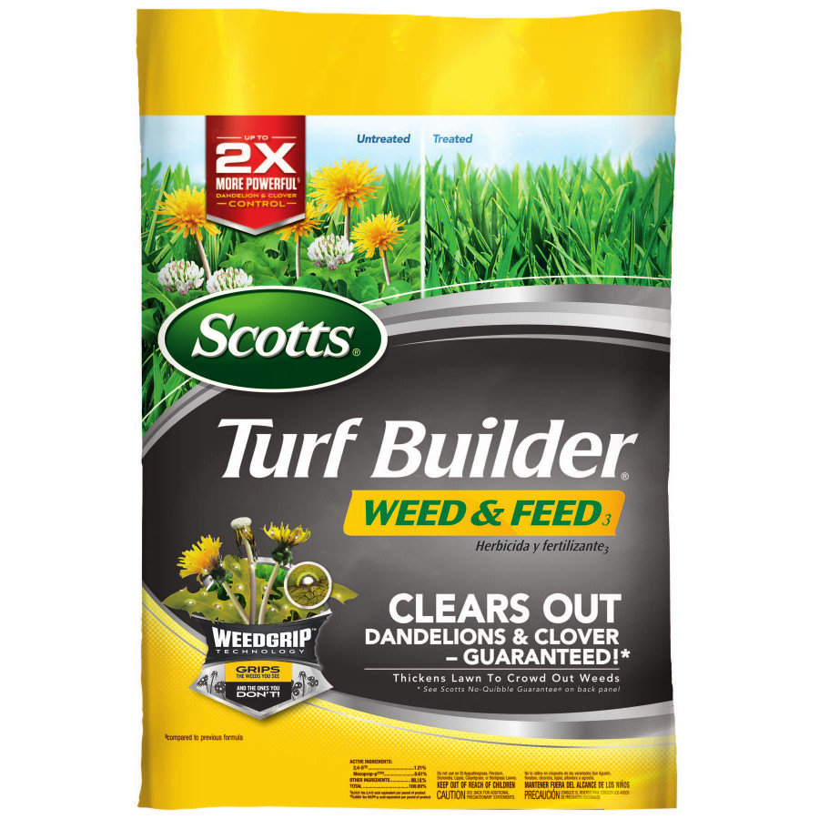 Scotts Turf Builder Weed & Feed,15,000 sq. feet