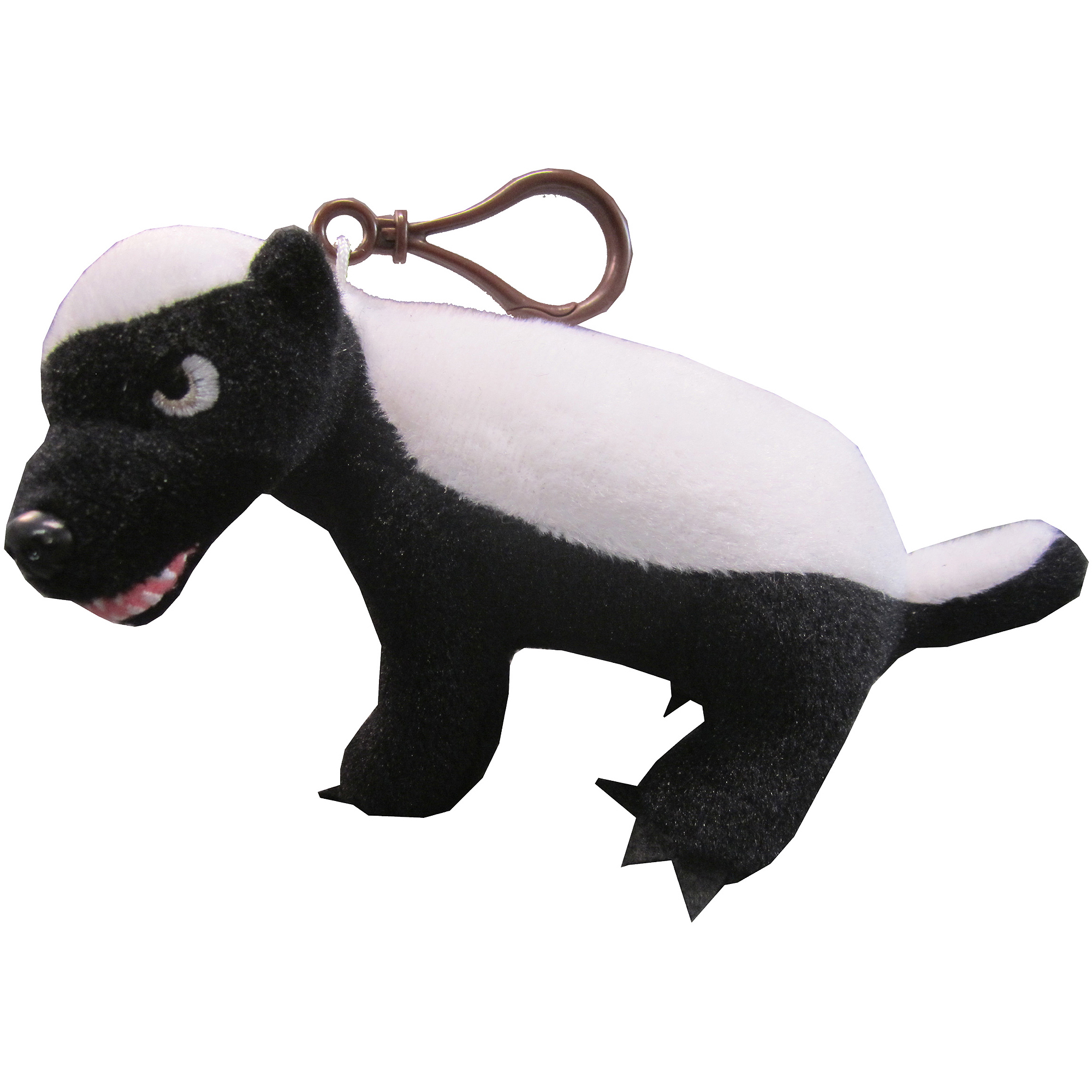 "Honey Badger Plush Clip On [""R"" Rated Version]"