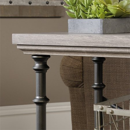 Sauder Canal Street Anywhere Console Table in Northern Oak - image 3 of 9