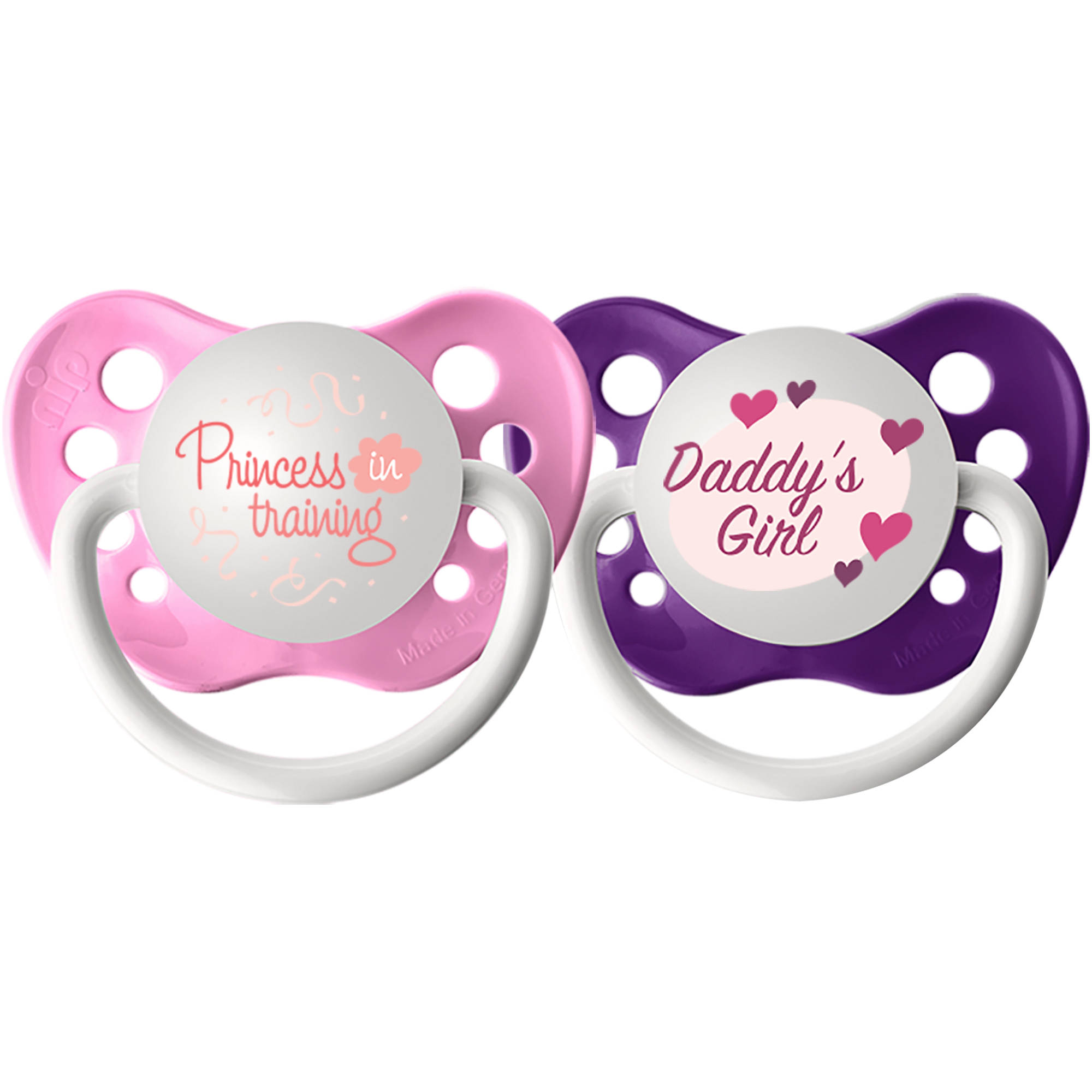 Ulubulu Princess in Training/Daddy's Girl, 6-18 Month, 2-Pack